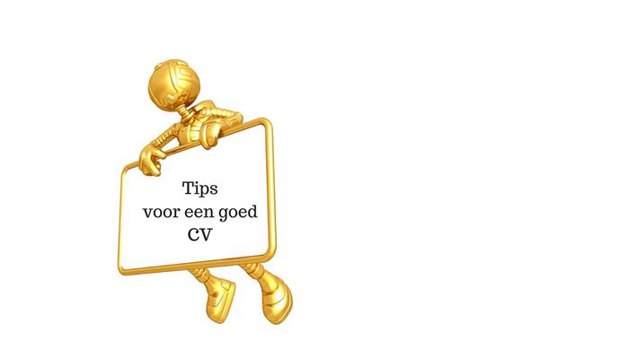 6 gratis gouden tips om je CV te laten uitblinken