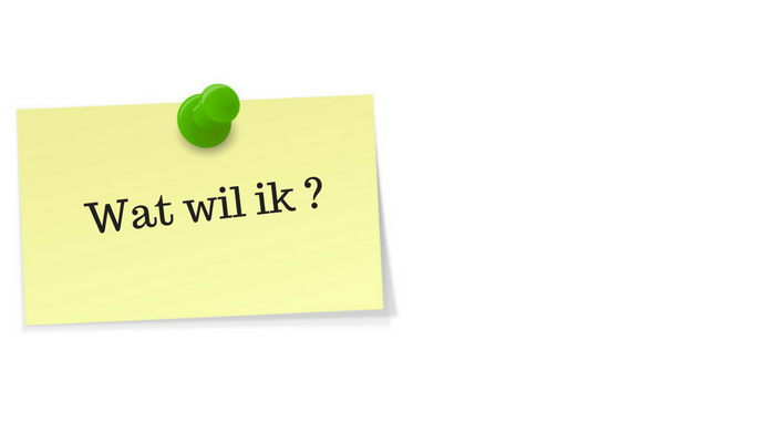 Solliciteren: wat wil ik?