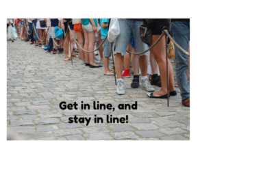 Solliciteren: get in line and stay in line!